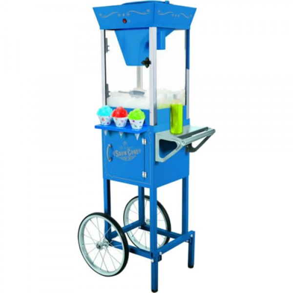 Charmant Snow Cone Machine W/Cart
